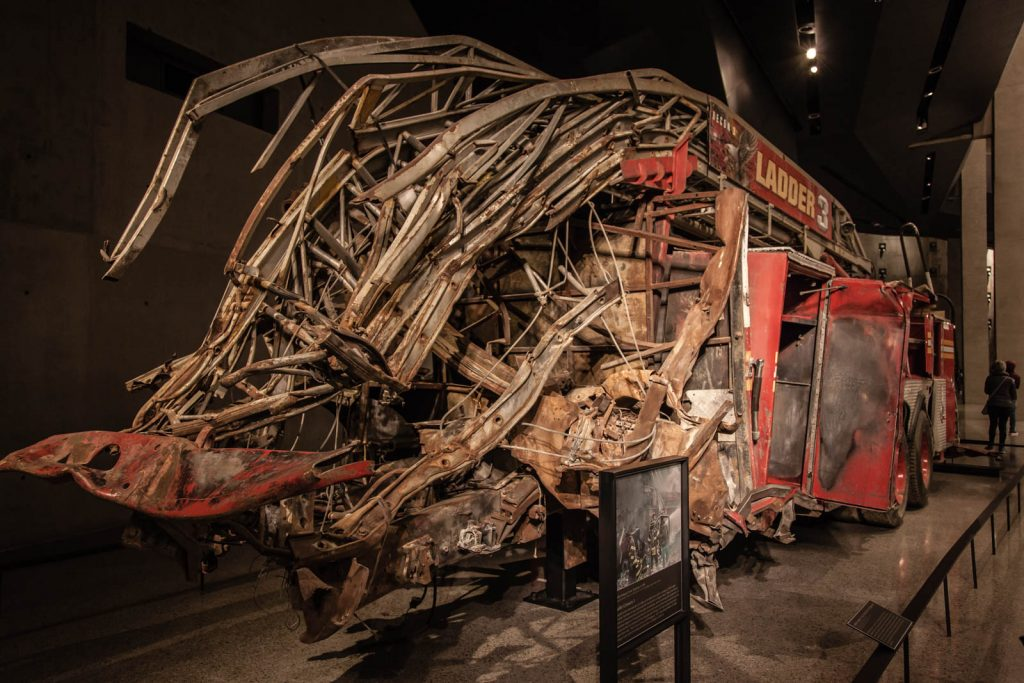 Fire Truck Remains from 9/11