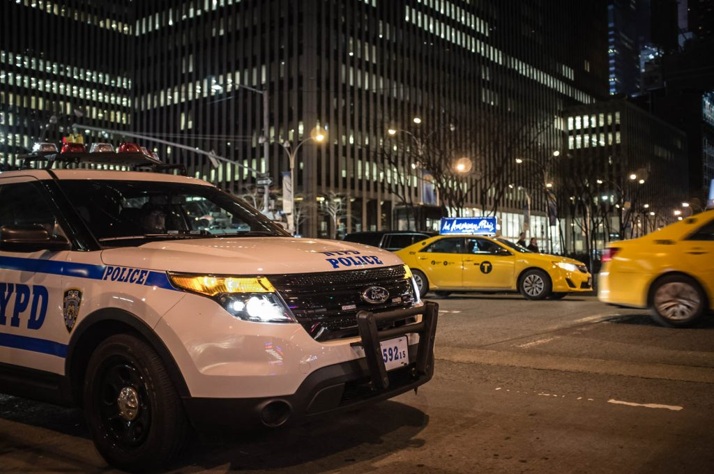 NYPD Strategic Response Group vehicle!