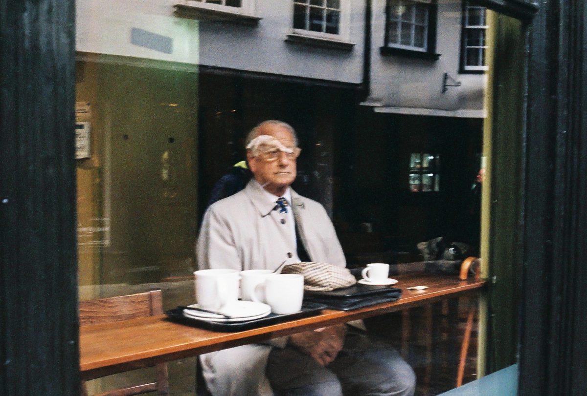 Through a Café Window, York