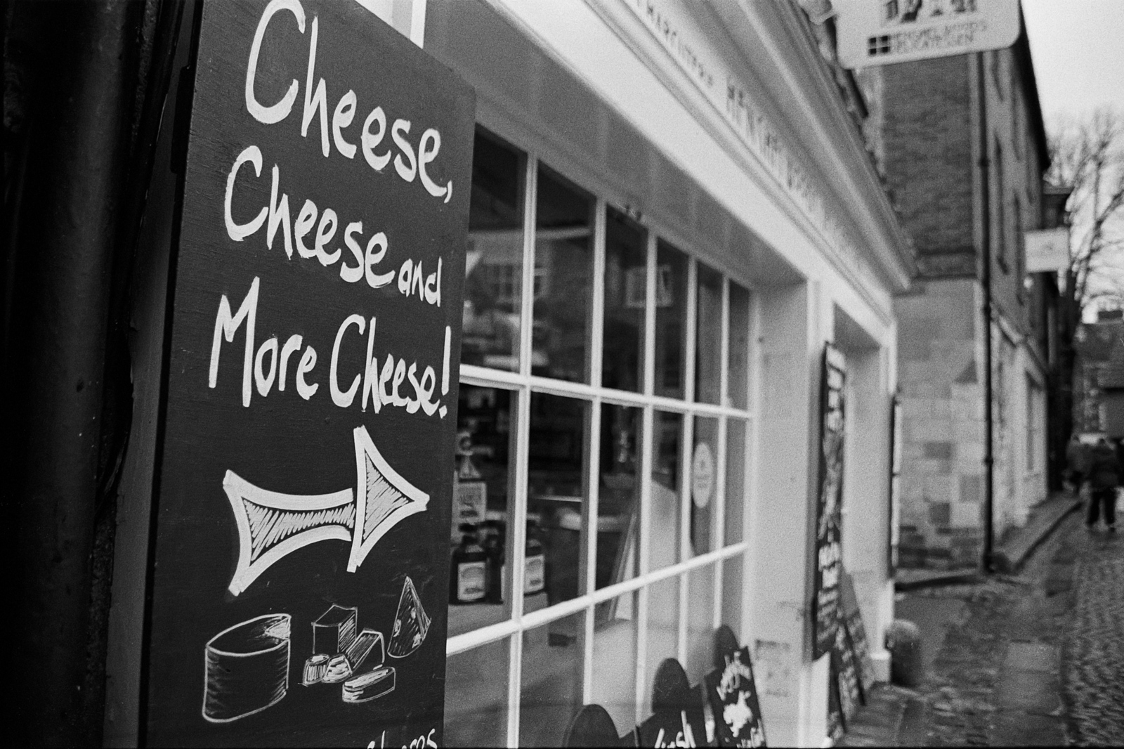 Cheese, Cheese and More Cheese