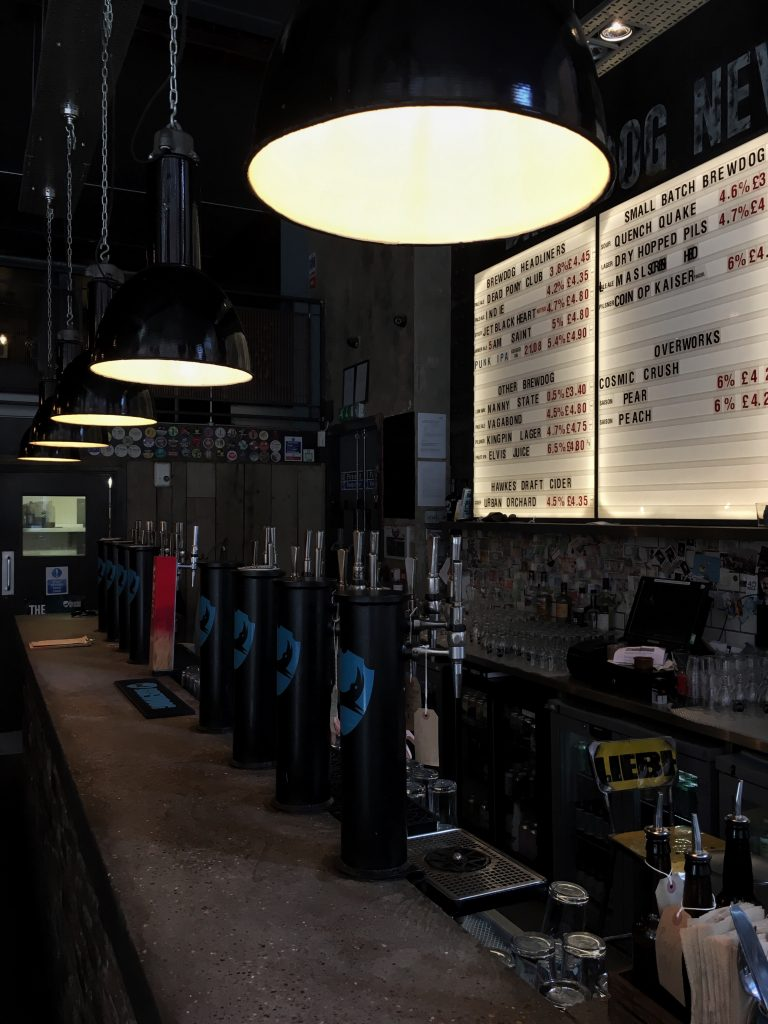 Brewdog Bar, Newcastle